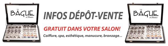 depot vente Bague à Dames